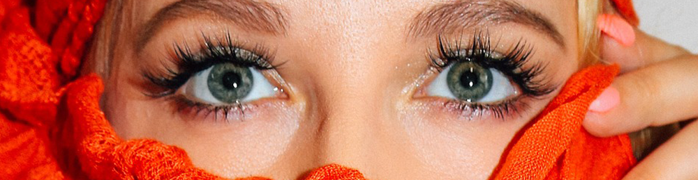 Lange und schöne Wimpern